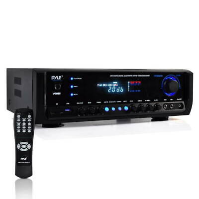 New Pyle PT390BTU Digital Home Theater Bluetooth Stereo Receiver, Aux (3.5mm)