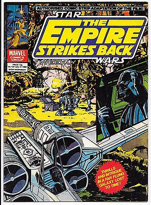 """Marvel Comics - Star Wars Weekly """"The Empire Strikes Back"""" - #127 July 31st 1980"""
