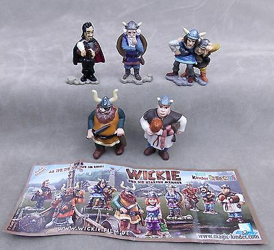 Bullyland Wickie and the Strong Men Halvar Faxe Gift box Play figures