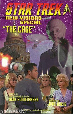 Star Trek New Visions Special IDW comic: The Cage [John Byrne]