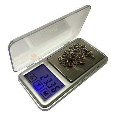 Electronic Digital Pocket Weighing Scale Touch Screen LCD Display 100g / 500g