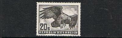 STAMPS  AUSTRIA 1950  AIR   20s (MLH) Golden Eagle   BIRD  lot  A141b