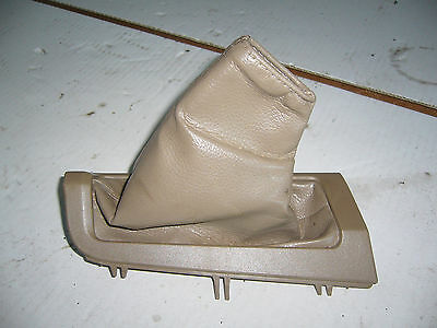 Volvo XC70 Beige Leather Handbrake Gaiter 00-04 Models