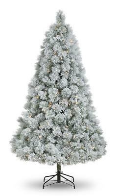 New 7ft 'Snowed-On' Laurent Spruce Artificial Christmas Tree