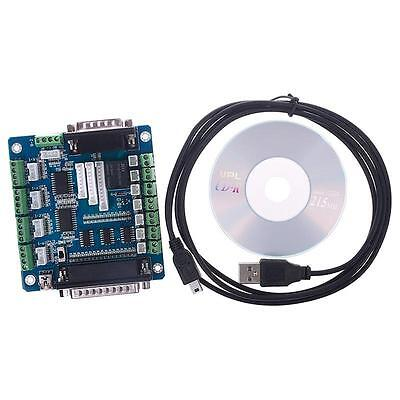 CNC 5 Axis Breakout Board Interface Adapter For Stepper Motor Driver Input BA