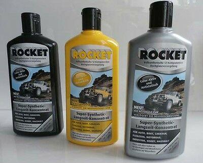 4x  Autopolitur  500ml Rocket  Auto Pflege Politur 1168