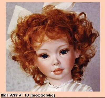 "~/""JeSsiCa/"" WiG CaRrOt 14//15 ~ REBORN DOLL SUPPLIES"