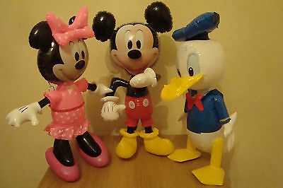Disney Inflatable  Large Official Minnie Mouse - Mickey Mouse - Donald Duck