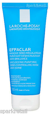 La Roche-Posay EFFACLAR Unclogging Purifying Sebo-Controlling Clay MASK 100ml