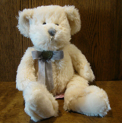 Russ Berrie #LE2000 MILLENNIUM TEDDY, w/ Certificat,  NEW from Retail Store