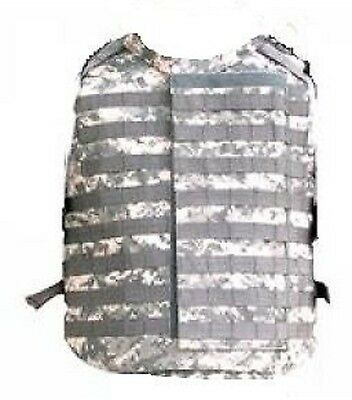 US MOLLE OTV ACU Outer Tactical IBA Kevlar Weste Army USMC Vest UCP Large