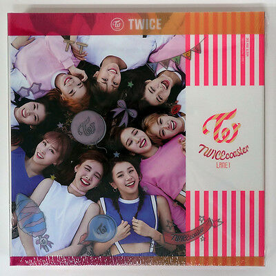 TWICE - TWICEcoaster [Neon Magenta B ver] +Limited 9 Photocards+Poster+Free Gift