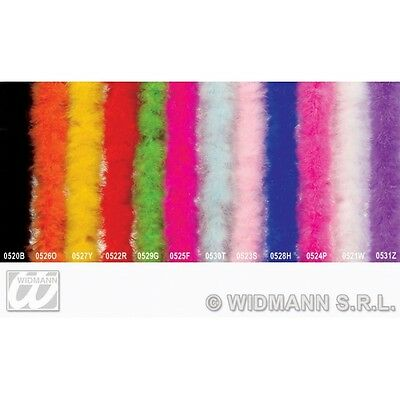 Marabou 2Mtr Pink Boa for Fur Fake Feather Garlands Boas Fancy Dress