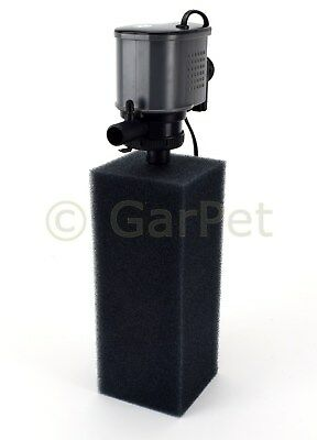 Atman IP Aquarium Powerhead Pumpe + Filterschwamm Filter Innenfilter