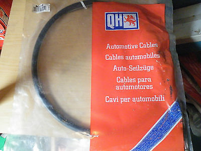 QCC1078 New Clutch Cable Fiat 124, Special 1400 1966-1974