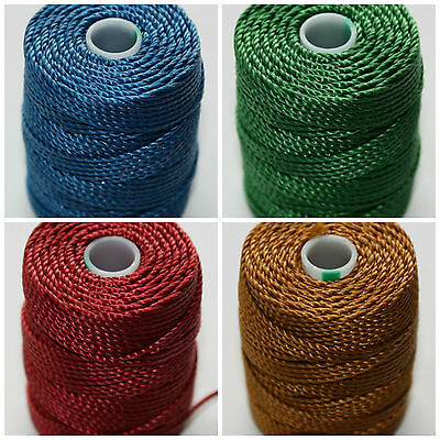 C-Lon Heavy Weight Bead Cord Four Pack Selection - CUSTOMER CHOICE of COLOURS