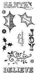 HEIDI GRACE Clear Stamps ***29405 CHRISTMAS***