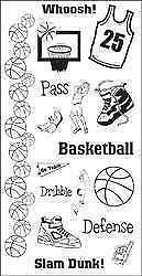 TPC STUDIO Clear Stamps ***93473 BASKETBALL***
