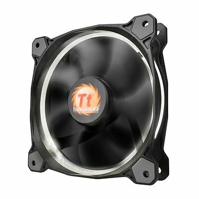 Thermaltake Riing 12 Led 120mm Cooling Fan High Static Pressure 12cm - White