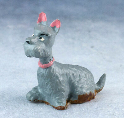 Marx Disneykins Jock from Lady & Tramp 1960's Disneykin Miniature Dog Figurine