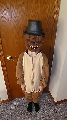 Youth Kids Children's Scary Teddy Bear Five Nights at Freddy's costume mask hat