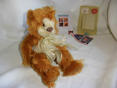 "Vintage Handmade~Mohair~Jointed Teddy Bear~Son Of Paleface #103~10"" Merrythought"