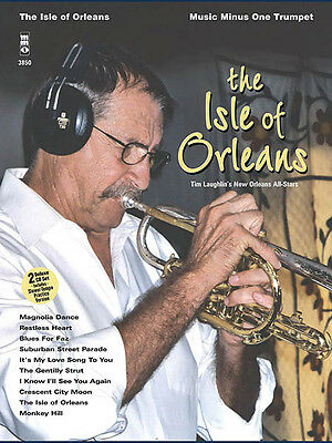 The Isle Of Orleans Trumpet Jazz Sheet Music Minus One Play-Along Book CD NEW