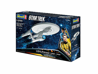 Revell - Star Trek - U.S.S. Enterprise NCC-1701, 1:500, Neu, 04882