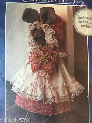 Soft Sculpture Doll Kit Granny Mouse Instructions In English & French NEW