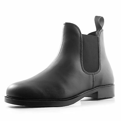 Requisite Glendale Horse Riding Jodhpur Boots Mens Black Equestrian Shoes