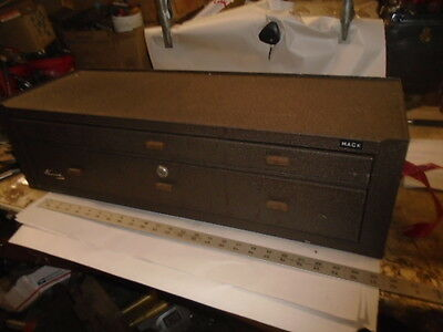 MACHINIST TOOLS LATHE MILL Machinist  Kennedy Riser Middle Machinist Tool Box AD