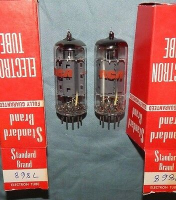 Nos Nib Premium Pair 7868 Rca Tubes Made In England Best Power Tubes 1960's Mint