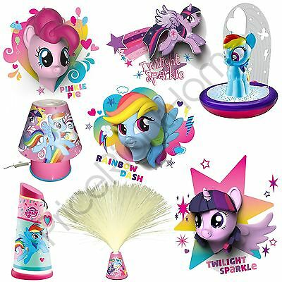 My Little Pony Wall Lights And Bedroom Lighting Range - Lamp, Light Shade, Torch