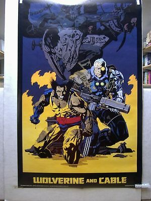 Mike Mignola: Wolverine & Cable Poster (USA)