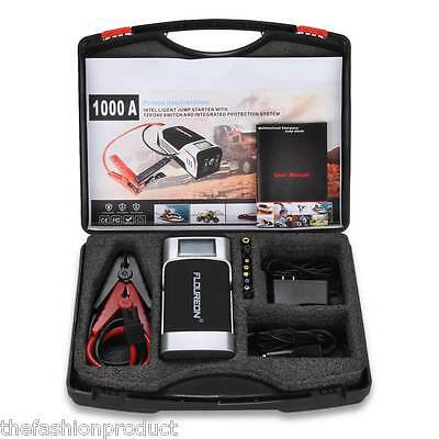 20000mAh 12V/24V Car Jump Starter Booster Emergency Battery Charger Power Bank