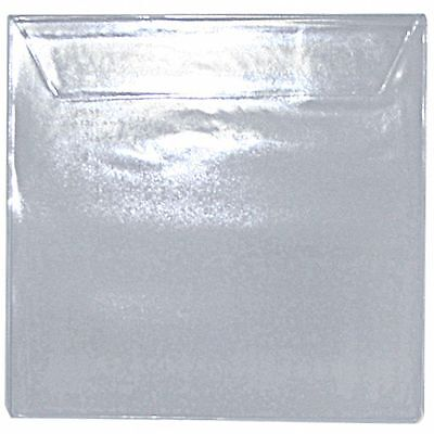 "Covers 33 7"" PVC Deluxe Clear Record Sleeve With Flap (pack of 50)"