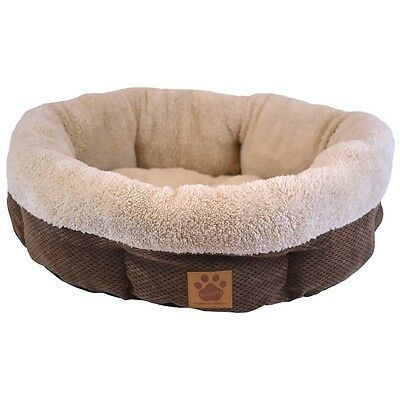 """Shearling RoundCoffee Liqueur Chenille  21"""""""