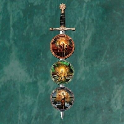 Sword Display Only for Power of His Will Archangels Plates Bradford Exchange