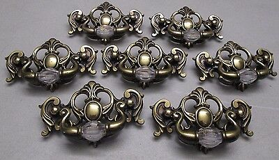 Vintage Drawer Pulls Dresser KBC  Keeler Brass Co  Lot of 7 Handles N20751
