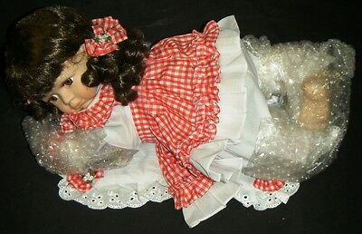 LORELLA CATHAY DEPOT COLLECTION Limited Edition PORCELAIN DOLL - Brown Hair/Eyes