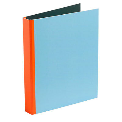 Spine Binder Ordner Flourescent Orange Hay Design