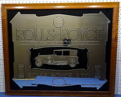 Wall mirror Rolls-Royce - The Best Car in The World - copyright relic design