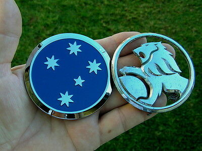 ~ SOUTHERN CROSS BADGE - HOLDEN COMMODORE REPLACEMENT CAR BADGE *New & UNIQUE*