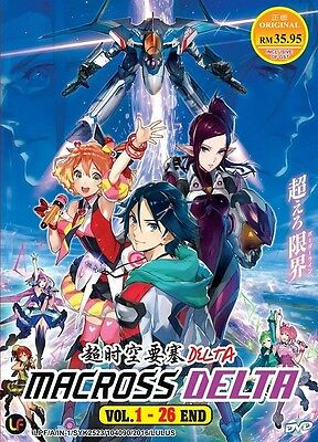 MACROSS DELTA TV | Episodes 01-26 | English Subs | 2 DVDs (M2460)-LU