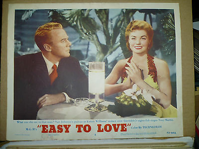 EASY TO LOVE, orig 1953 LC #3 (Van Johnson, Esther Williams)