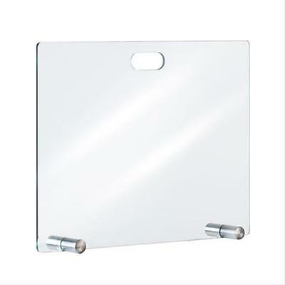 Spark guard plate / Spark protection glass kamino flam straight 80x60cm