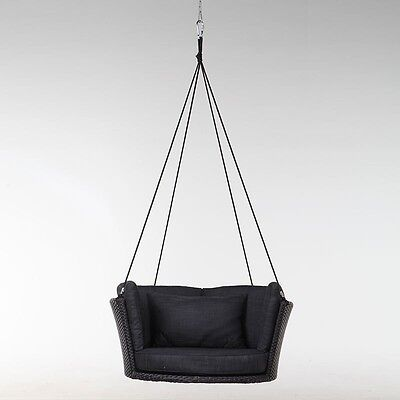 NEW EXCALIBUR 'Libra' Outdoor Hanging Chair Garden Furniture Wicker PE Rattan
