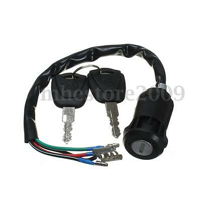 Ignition Switch + 2 Keys For Honda TRX125 FOURTRAX 125 ATC200M ATC125M ATC 200