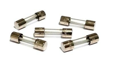 LOT OF 5 LITTELFUSE 4A 239 125V LF LITTLEFUSE FUSES 5mm x 20mm SLOW BLOW