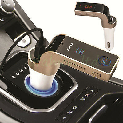 Wireless Bluetooth FM Transmitter Car Radio AUX USB Charger for iPhone iPod iPad